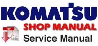 Komatsu PC270LC-8 Hydraulic Excavator Shop Service Manual (SN: 87001 and up )