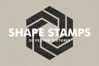 Vector Shape Stamps - 30 Items
