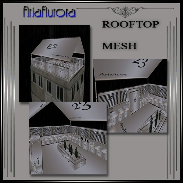 Rooftop Room Mesh .Resell Right!!