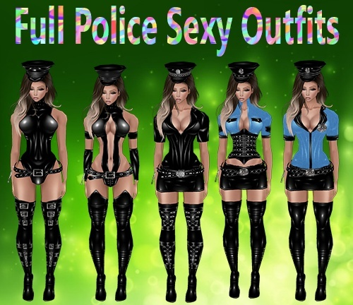 Full Police Sexy Outfits