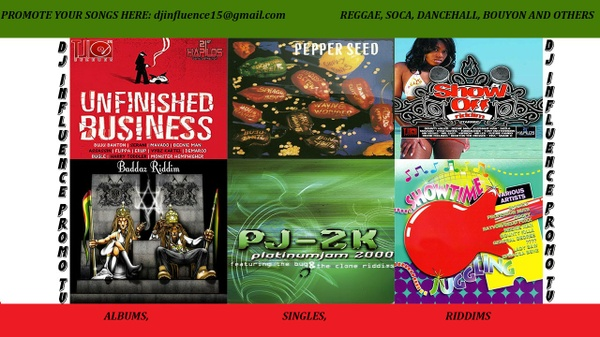 Baddaz, Bug/ Pepper seed/ Show Off/Showtime/ Unfinished Business Riddim mix by Djinflence