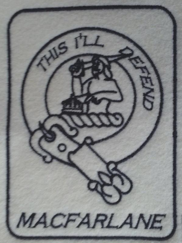 "MacFarlane, 3"" wide, nor border or name, .PES"