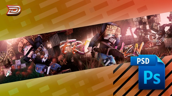 Frouzn Banner .PSD File