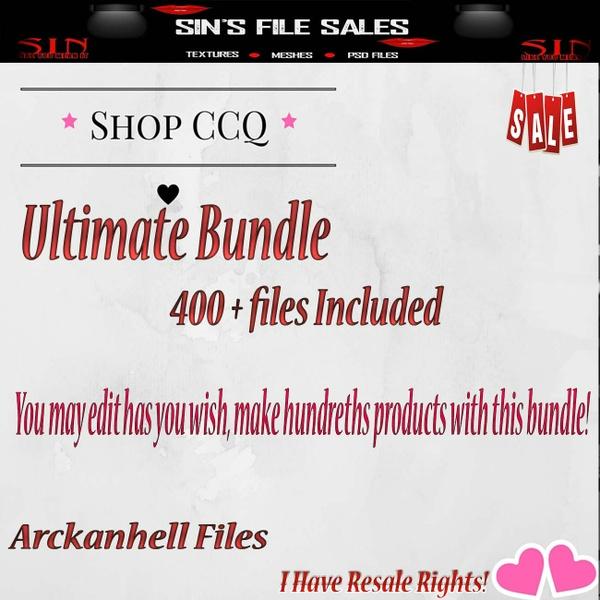 Ultra Bundle!!! 400+ Files!