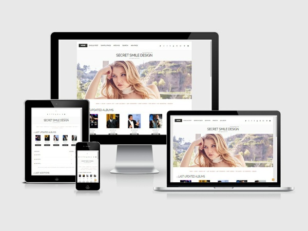 Coppermine Theme #03 (Responsive)