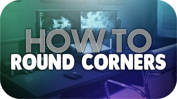 Round Corners PSD