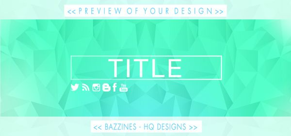 Template 1 - Header PSD