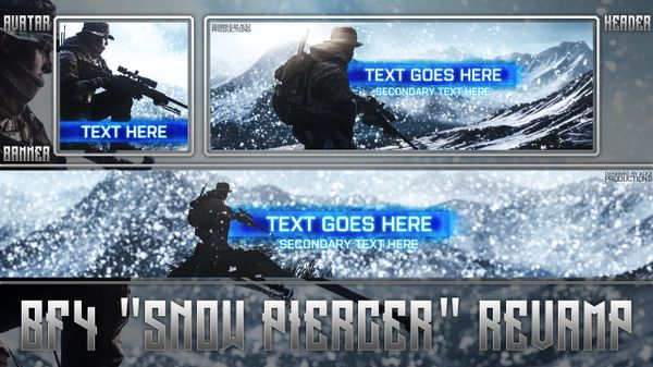 "Battlefield 4 ""Snow Piercer"" Revamp Pack"
