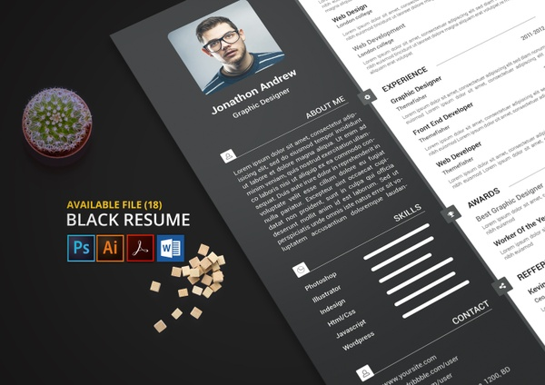 Black Resume