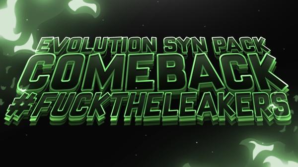 .SYN Evolution Comeback Pack. [$ 4.50]