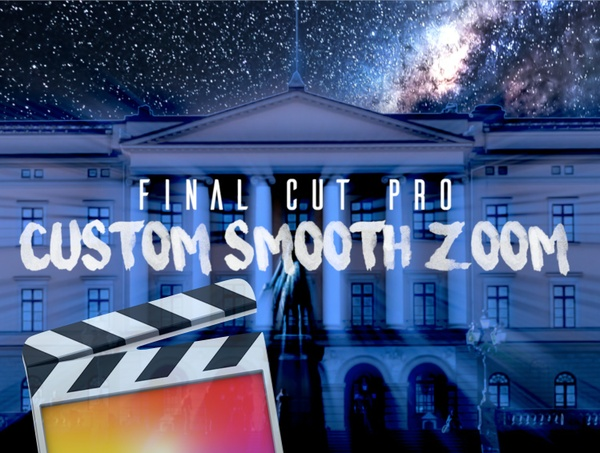 Smooth Zoom Transition/Plugin Tools - Final Cut Pro X