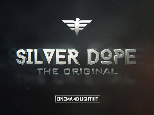 CINEMA 4D LIGHTKIT - Silver Dope Original