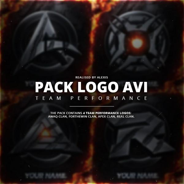 Pack Logo AVI Template 2K17