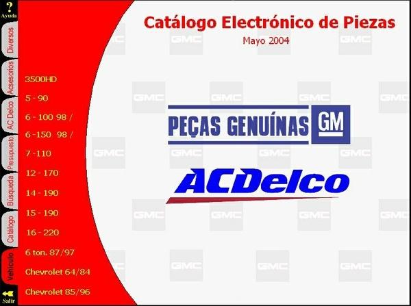 GMC y Chevrolet - Catálogo Electrónico de Piezas de CAMIONES