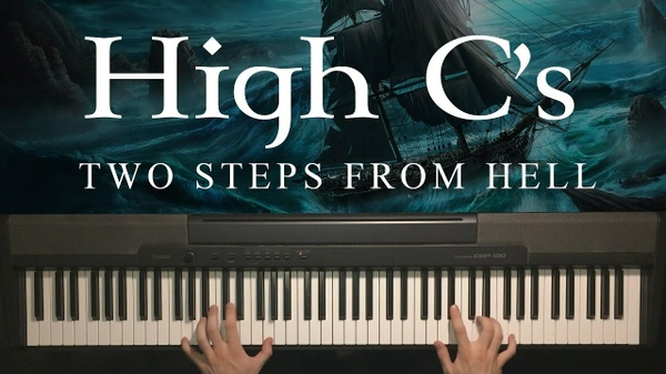 High C's Piano Sheet Music (Two Steps From Hell)