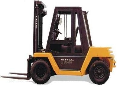 Still Diesel Fork Truck R70-60, R70-70, R70-80: DFG R7087, DFG R7088, DFG R7089 Parts Manual