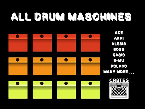MEGA Drum Machines Pack