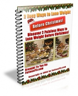 FREE eBook With Master Resell Rights 2 Clever Easy Ways To Lose Weight Before Christmas