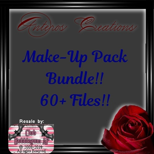 Mak-Up Bundle Pack 60+ files!!!!