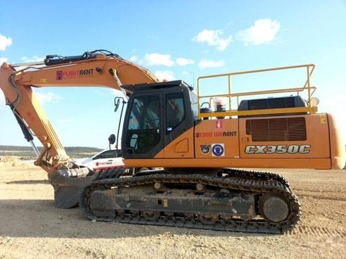 Case CX350C Tier 4 Crawler Excavator Operators Manual