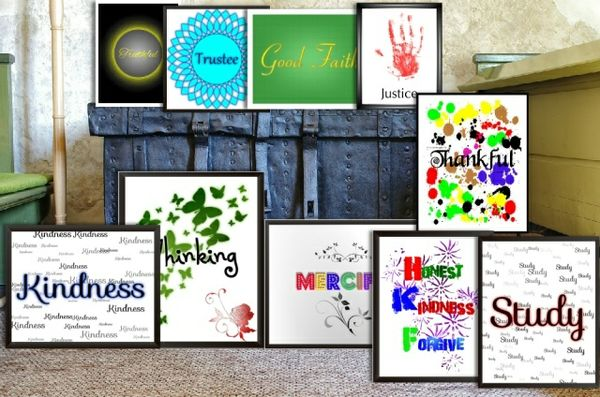 10 pieces of Wall Art Decor Print 3