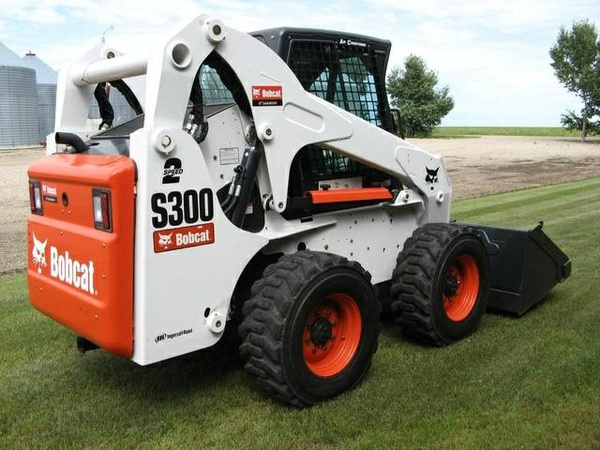 Bobcat S250, S300 Skid - Steer Loader Service Repair Manual (S/N A5GM11001 - A5GM19999,... )