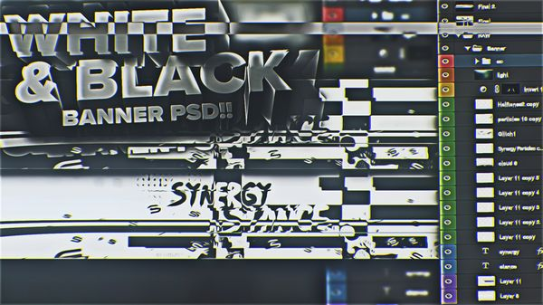 Synergy Stance PSD (Black&White Style!!!)