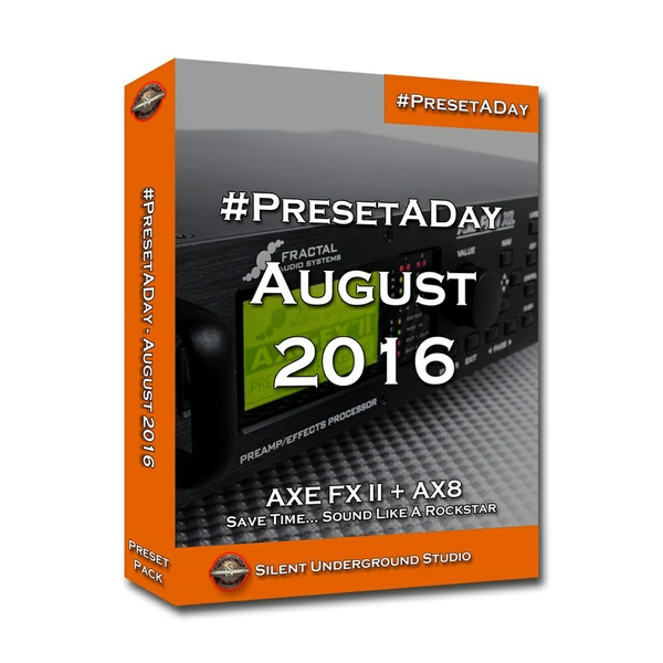 #PresetADay - AUGUST 2016 (FAS)