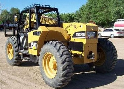 Caterpillar Cat TH220B TH330B Telehandler Service Manual Download