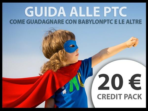 Babylonptc - 20 € di credito + e-book