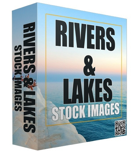 Rivers and Lakes Stock Images