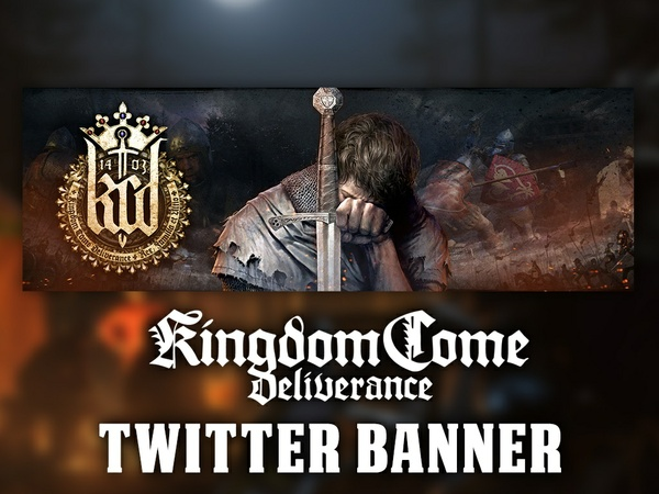 Kingdom Come: Deliverance Twitter Banner