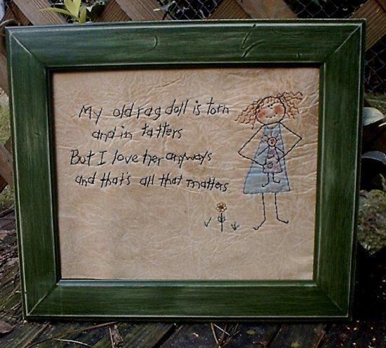 #331 My Old Rag Doll E Pattern