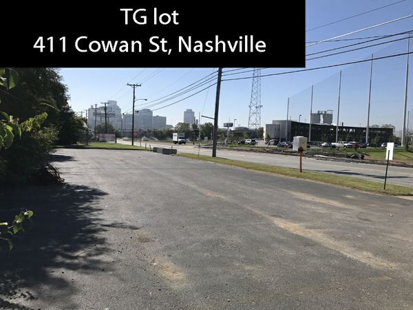 TG lot, 411 Cowan St -night/weekend 4 hrs