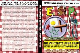 Egg, Sausage & Peas (ESP) The Mentalists CookBook DVD-ROM's