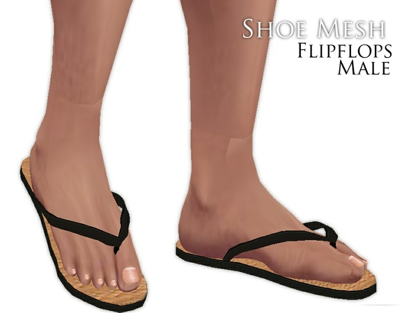 IMVU Mesh - Shoes - Flipflops (male)