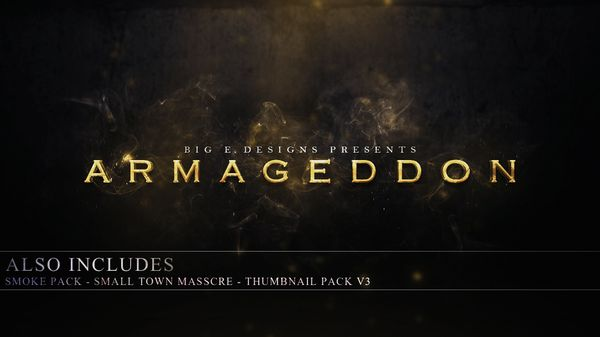 Armageddon - Big E Official Graphics Pack #2