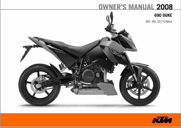 2008 KTM 690 Duke Service Repair Manual pdf download