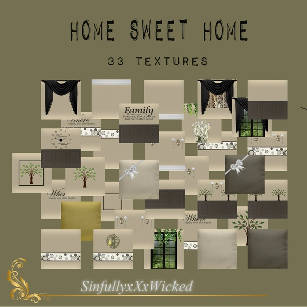 Home Sweet Home Texture Pack