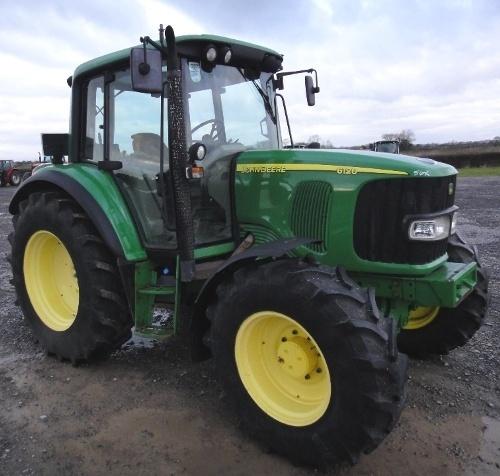 John Deere 6020, 6120, 6220, 6320, 6420, 6520, 6620 and S, SE models Tractors Repair Manual (tm4750)