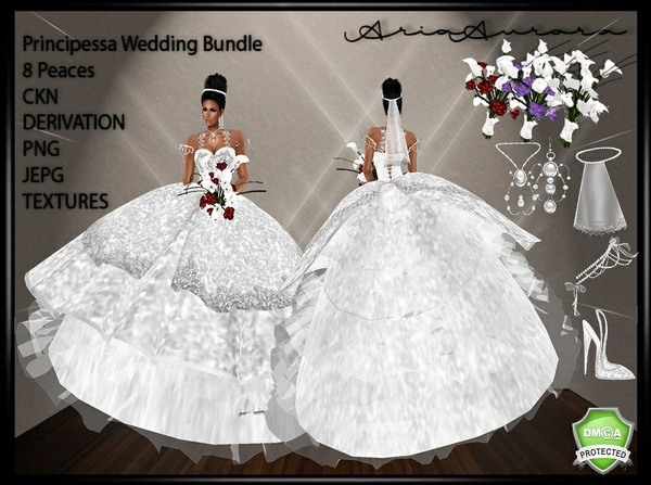 Principessa Wedding Bundle,Resell Right TO 5 People Limited!!