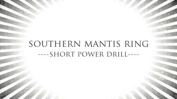 Tutorial: Rattan Ring Short Power Drill