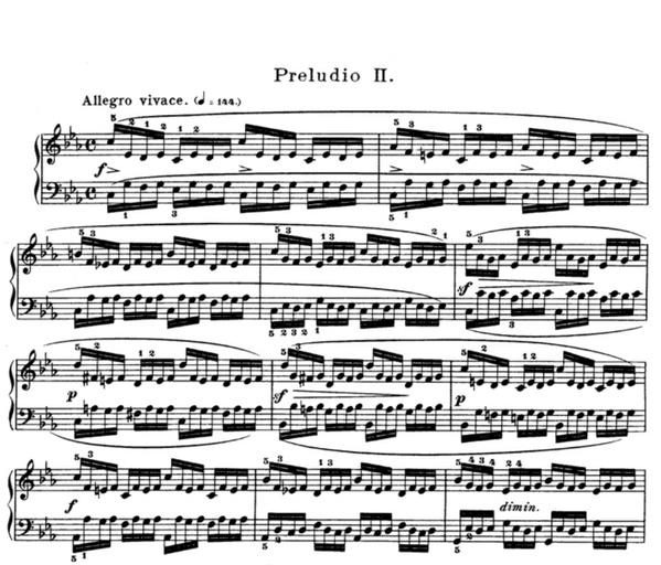 prelude in e minor sheet music pdf