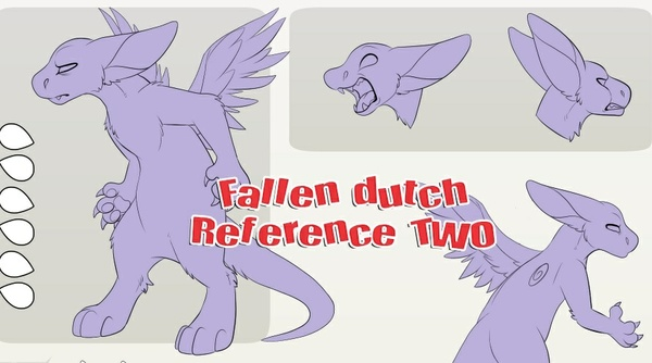Fallen Angel Dragon Ref TWO