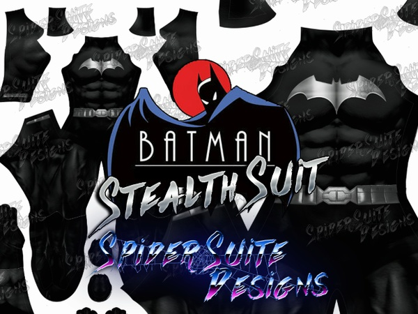 Stealth Batman 2017 Pattern