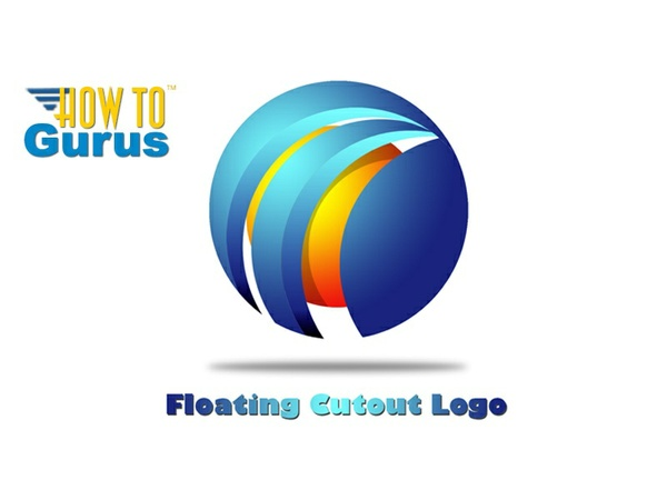 How to Create a 3D Style Logo Design in Photoshop Elements 11 12 13 14 Tutorial