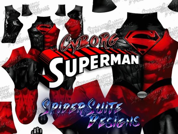 Cyborg Superman (Hank Henshaw) 2017 Pattern