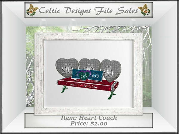 CD Heart Couch