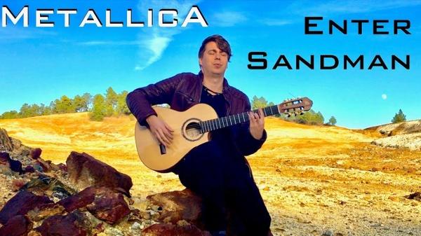 Enter Sandman (Metallica) - Solo guitar arrangement by Thomas Zwijsen