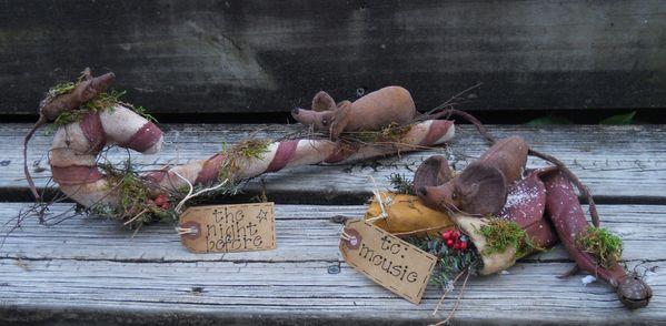 #217 Christmas Mice E Pattern